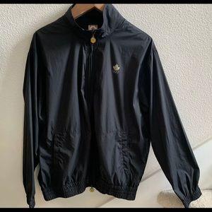 Canada olympics large polyblack full zip jacket